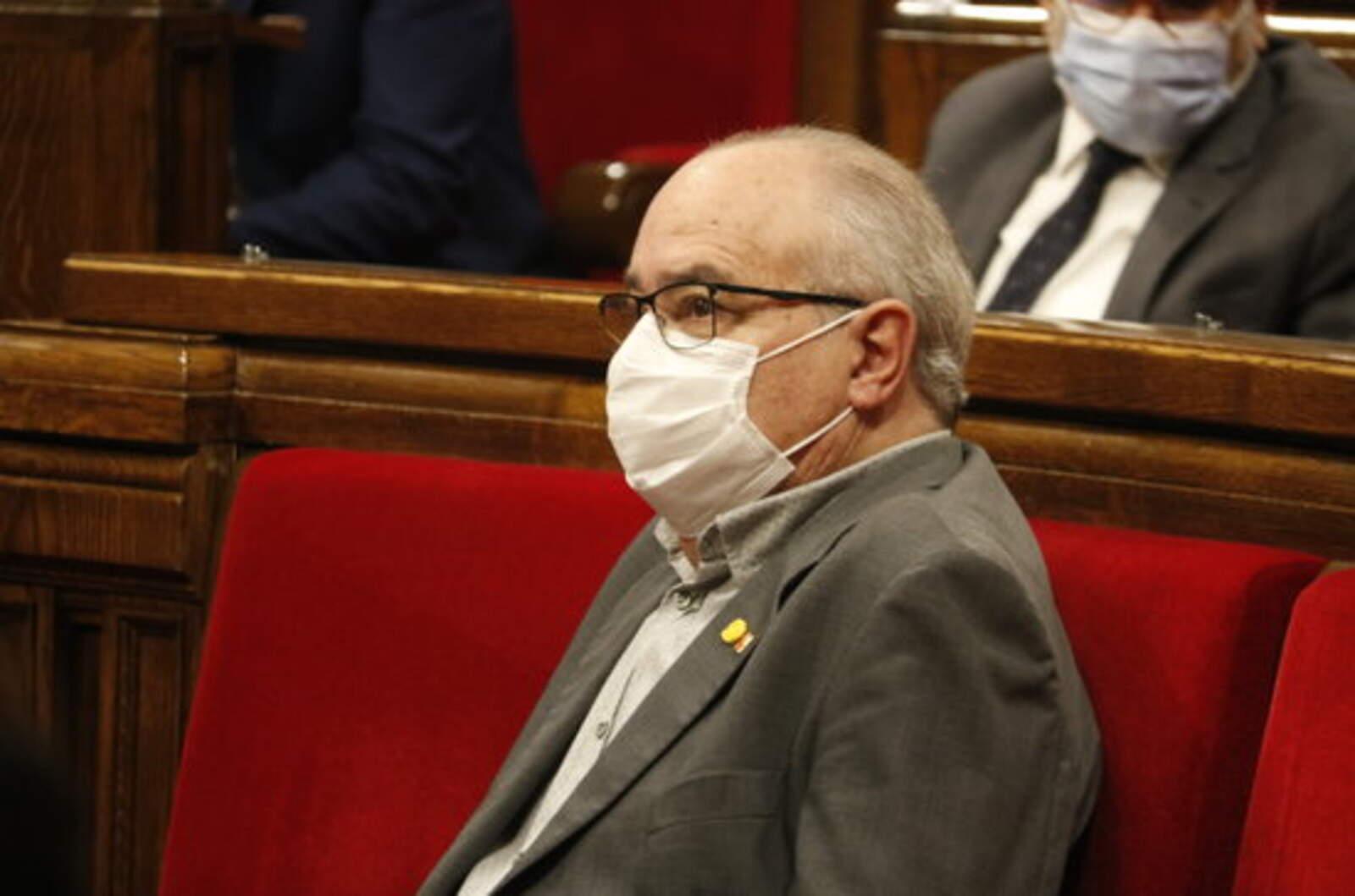 Josep Bargalló, conseller d'Educació