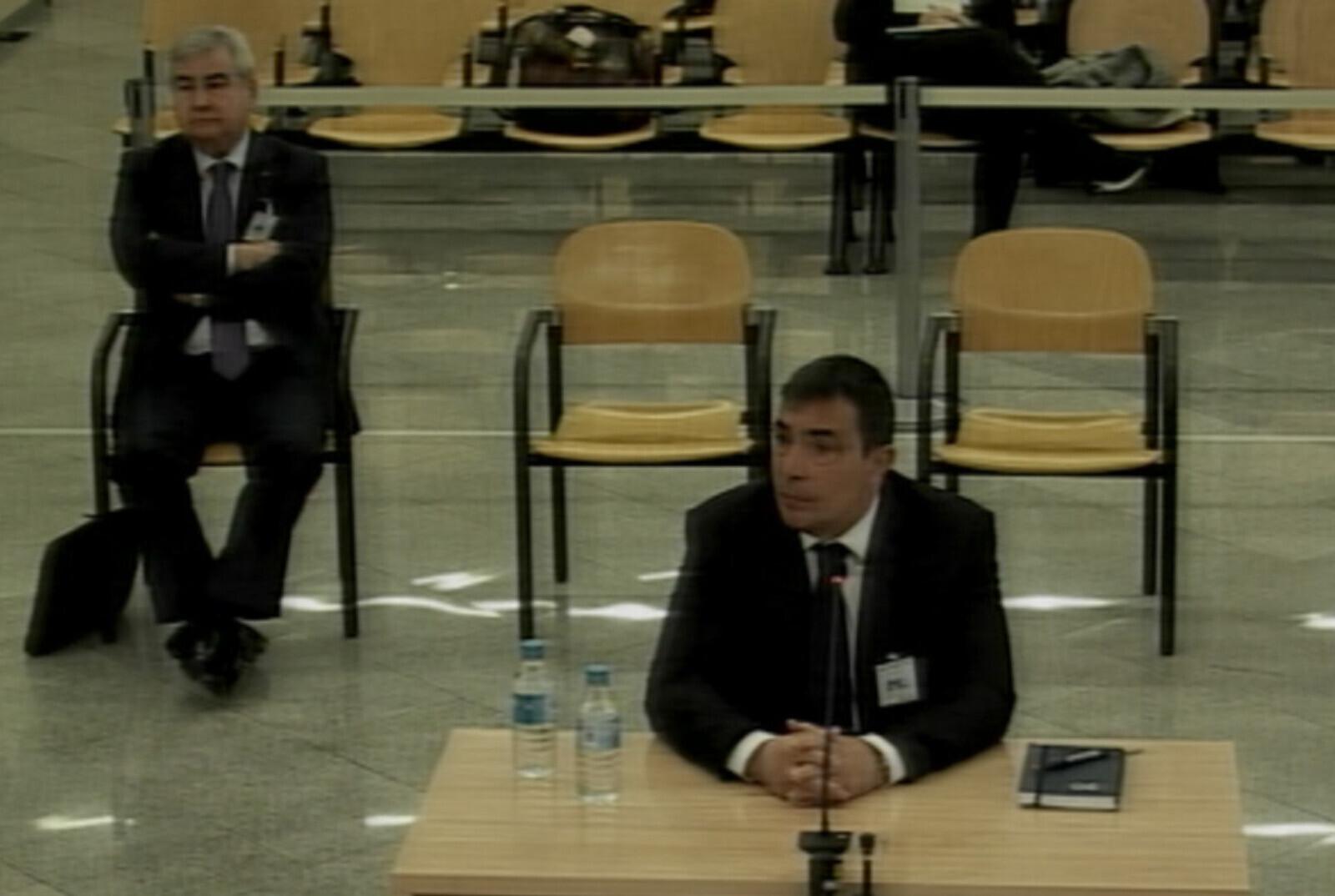 L'exdirector general dels Mossos, Pere Soler, durant la seva declaració a l'Audiència Nacional aquest 23 de gener