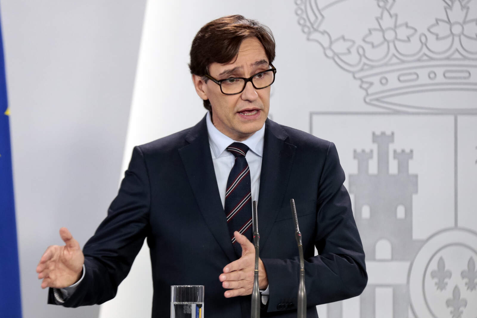 Ministre de sanitat, Salvador Illa