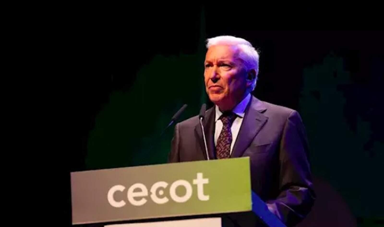 El president de Cecot, Antoni Abad, a 'La Nit de l'Empresari' de Cecot