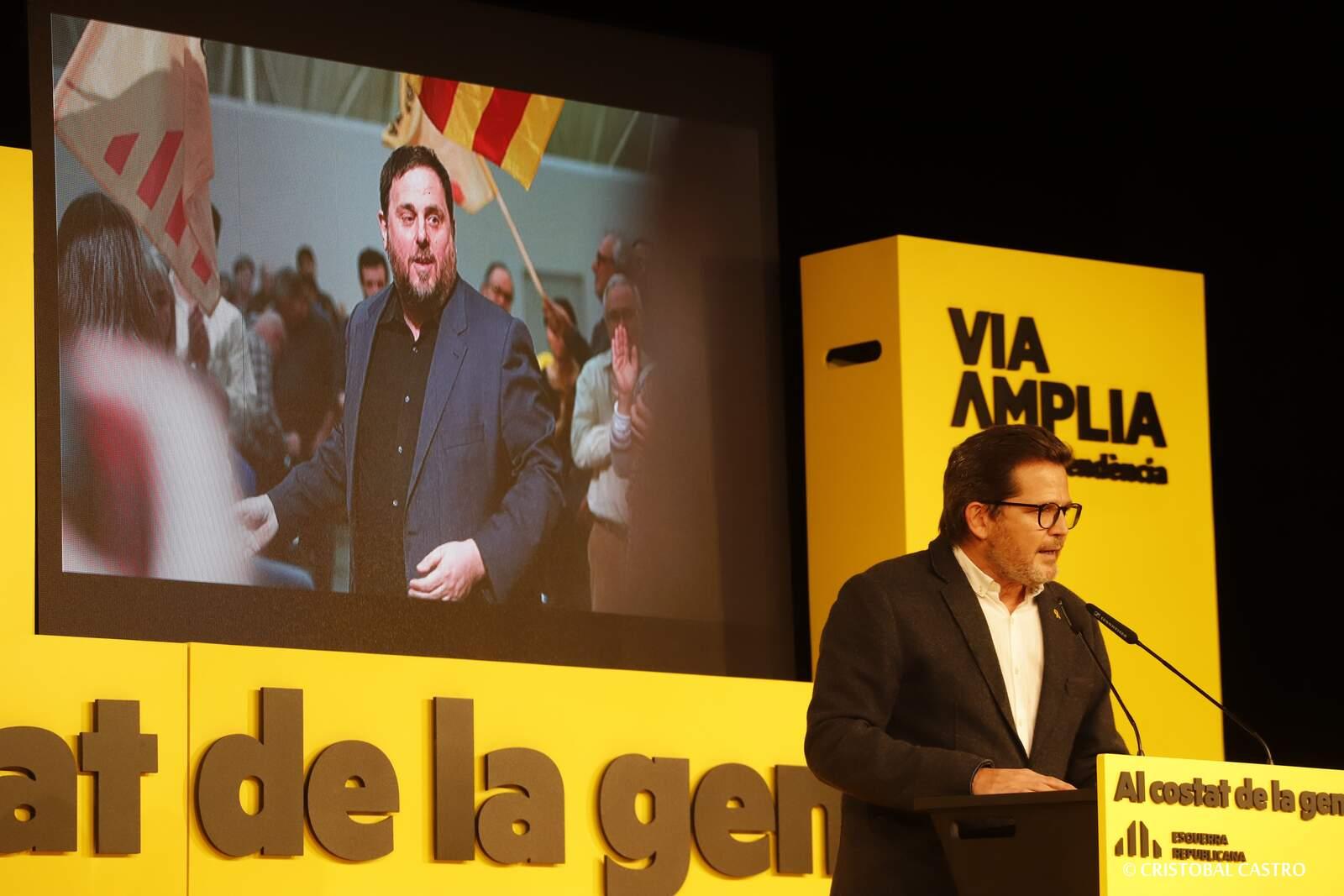 Acte central d'ERC a Terrassa per a les eleccions del 14F