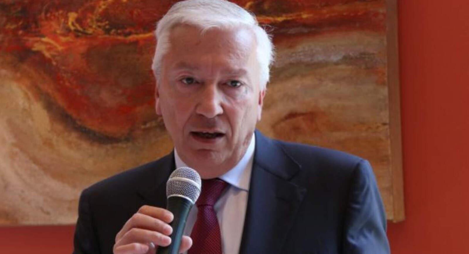 El president de la Cecot, Antoni Abad