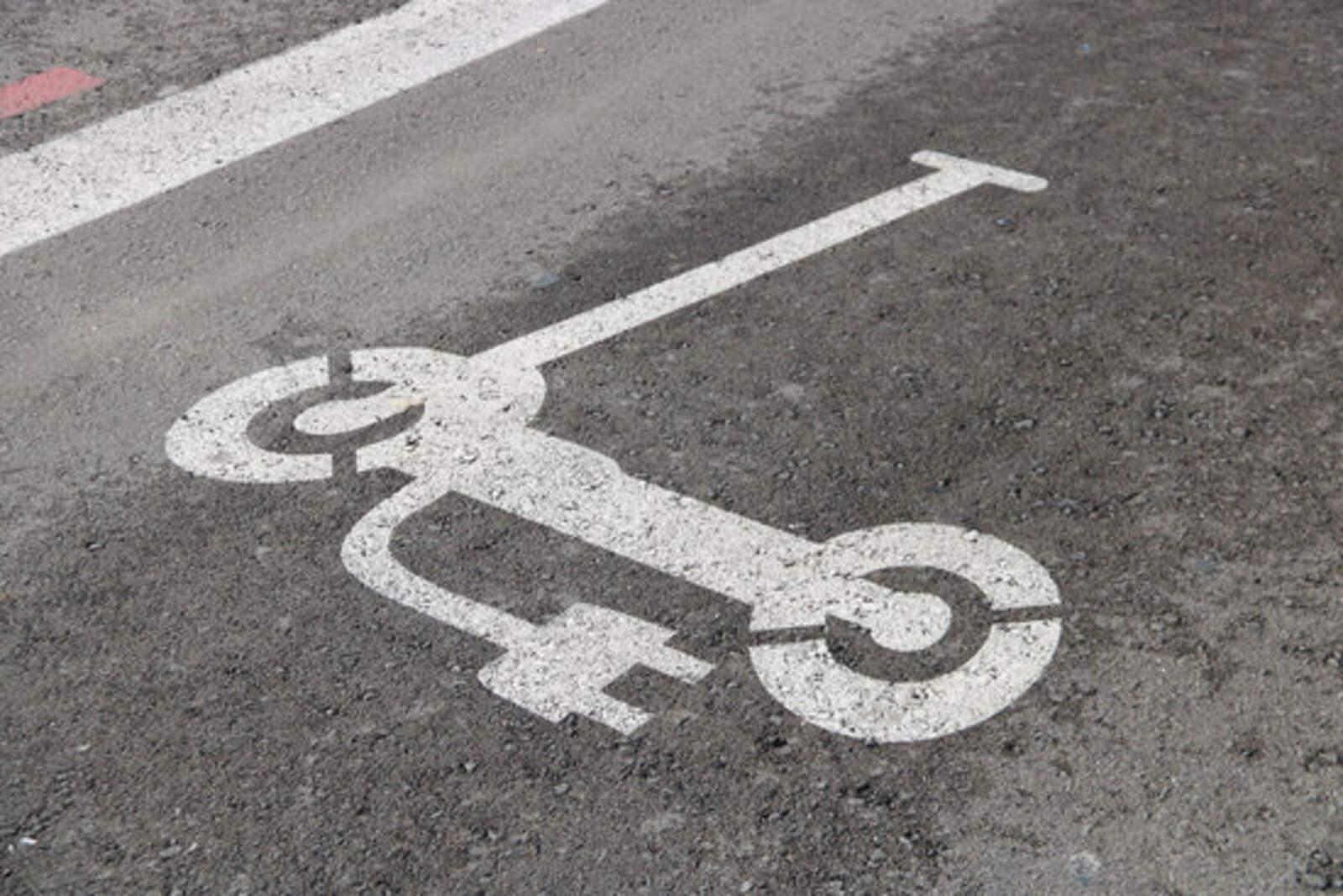 Nova icona de senyalització per als patinets a Terrassa