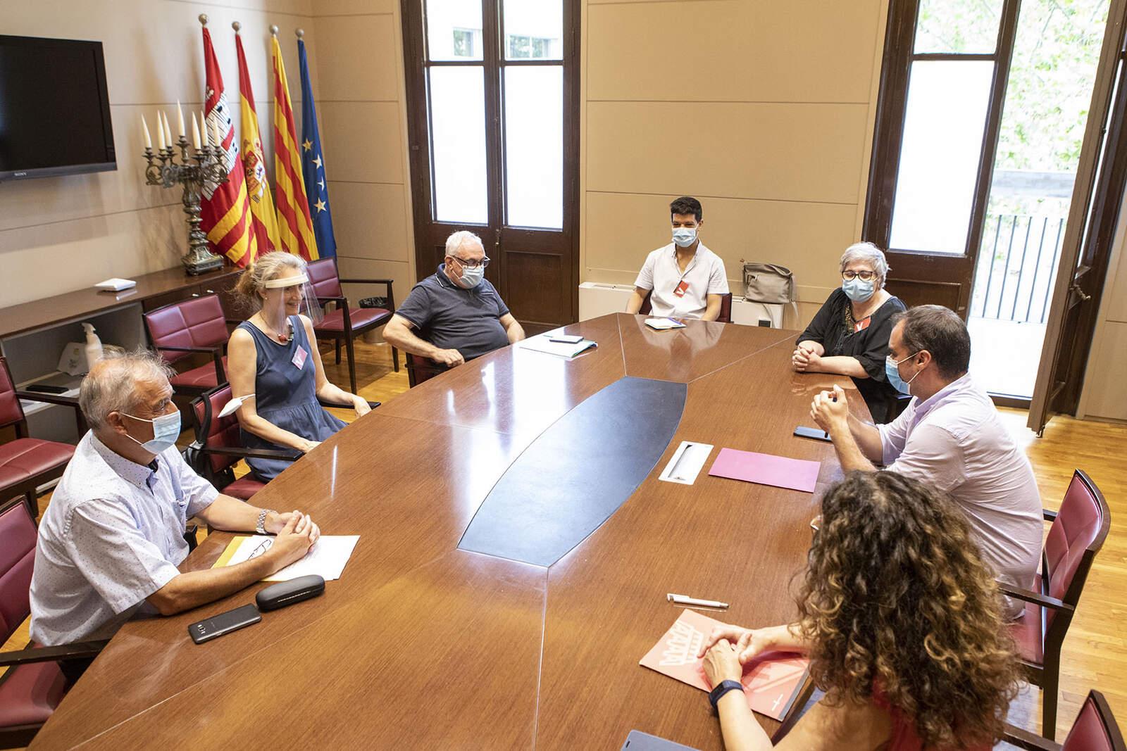 Trobada de l'alcalde amb el Consell Interreligiós de Terrassa