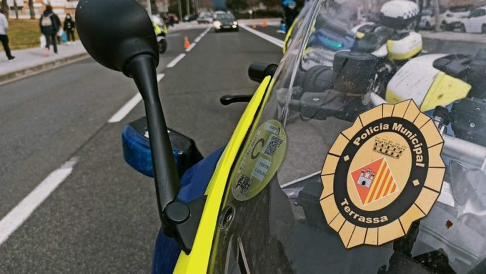 Vehicles de la Policia Municipal de Terrassa