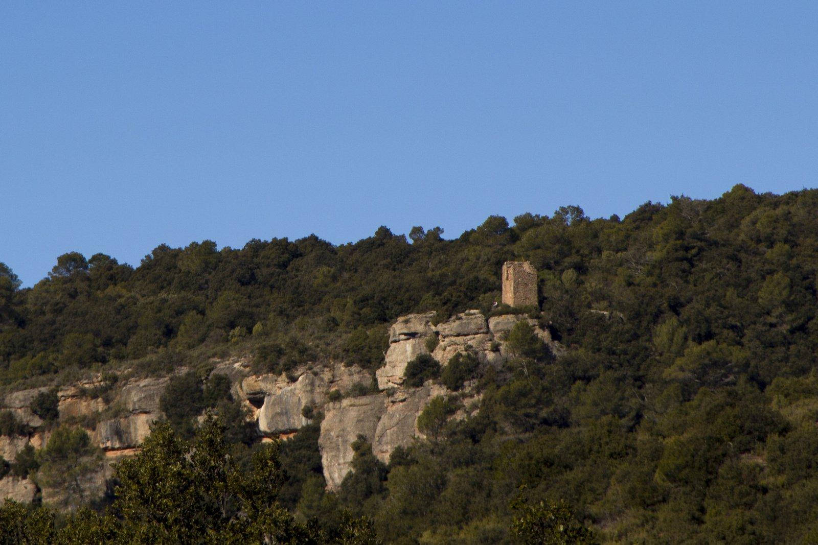 La Torrota de l'Obac, al Parc Natural de Sant Llorenç
