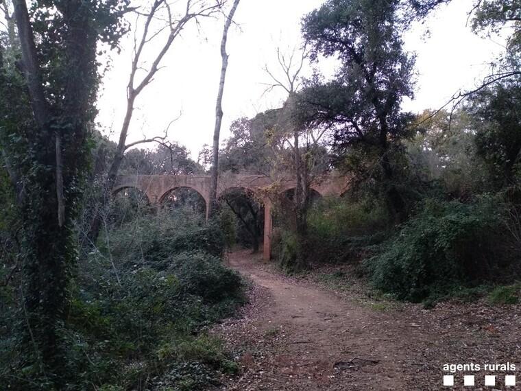 L'aqüeducte de Can Bonvilar    Agents Rurals