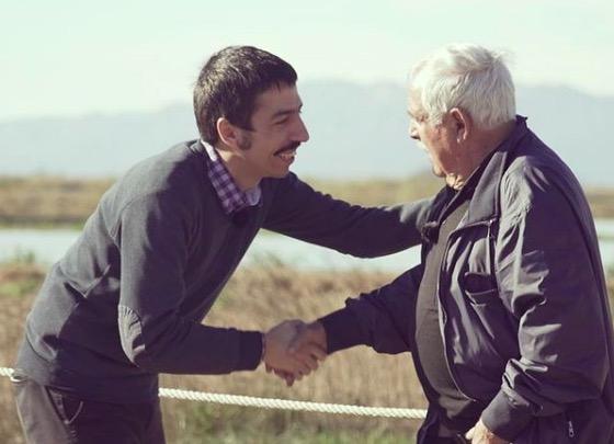 Pol Mallafré amb en Ramon, en el programa Canvi de Xip | P.M.