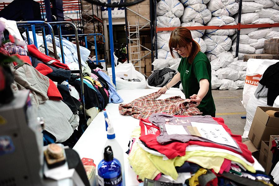 Classificació de la roba | Fundaicó Humana