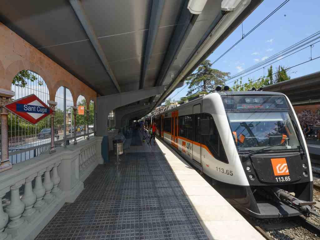 L'estació de FGC de Sant Cugat del Vallès | Aj. Sant Cugat
