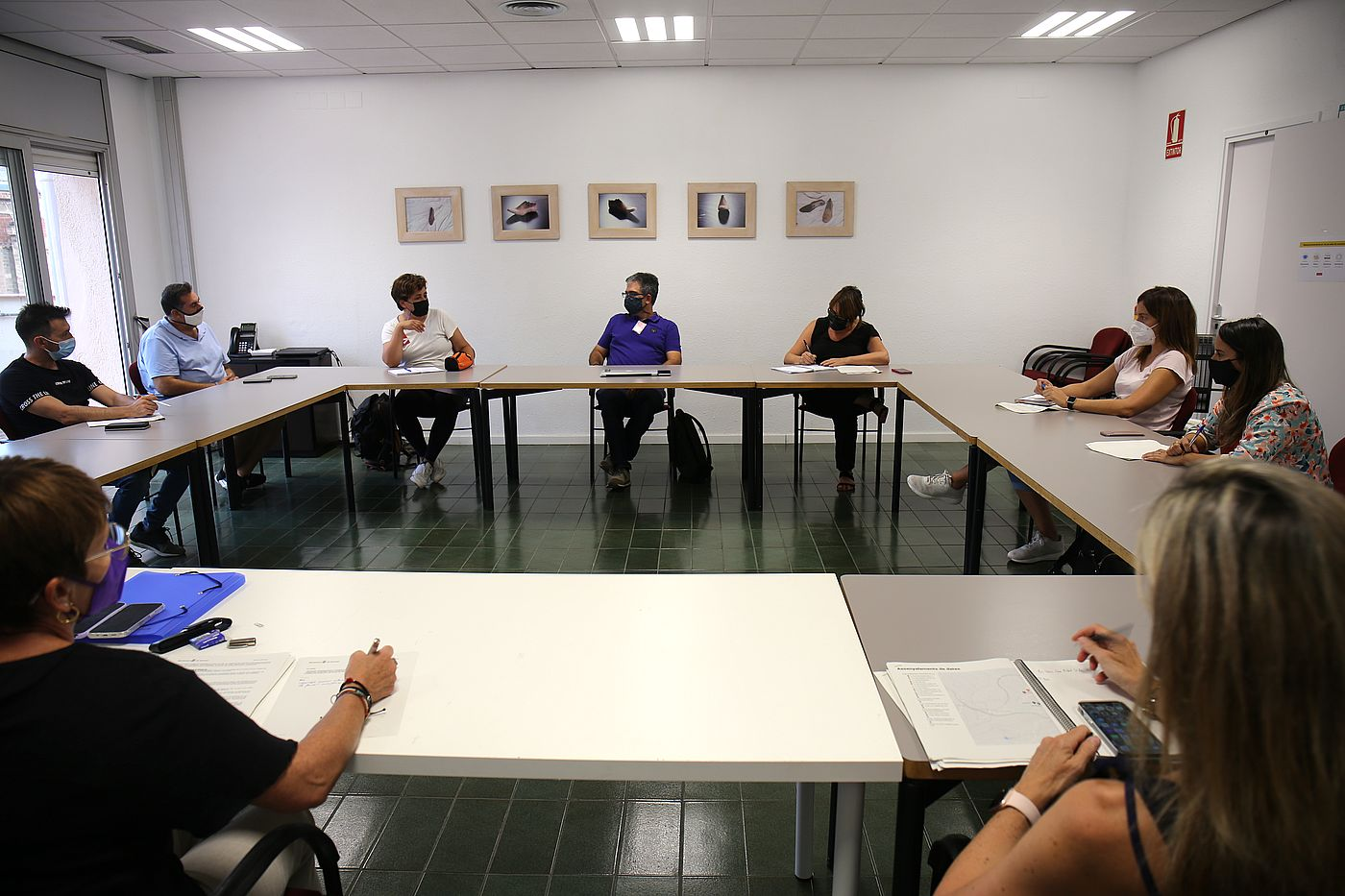 Reunió entre l'AV Can Palet Vista Alegre i representants de l'Ajuntament de Terrassa   Aj. Terrassa
