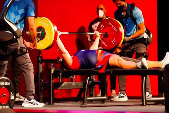 Montse Alcoba durant la seva participació als Jocs Paralímpics | Mikaeñ Helsing - CPE