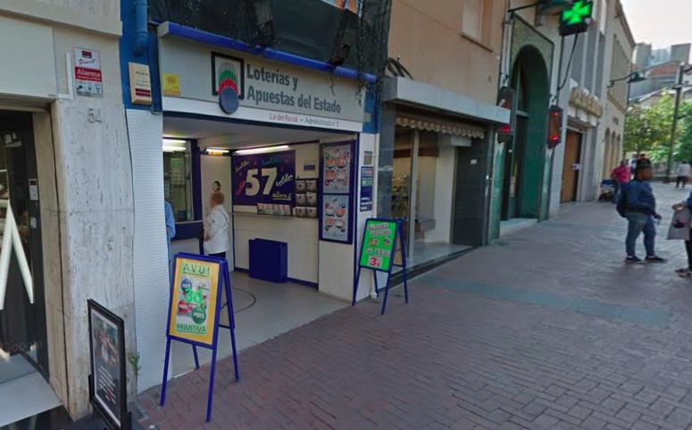 Administració número 5 de la Loteria Nacional al Raval de Terrassa | G.M.