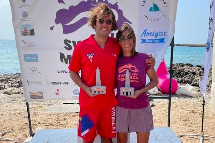 Mario Guillen va imposar-se a la Swim in Menorca   CN Terrassa