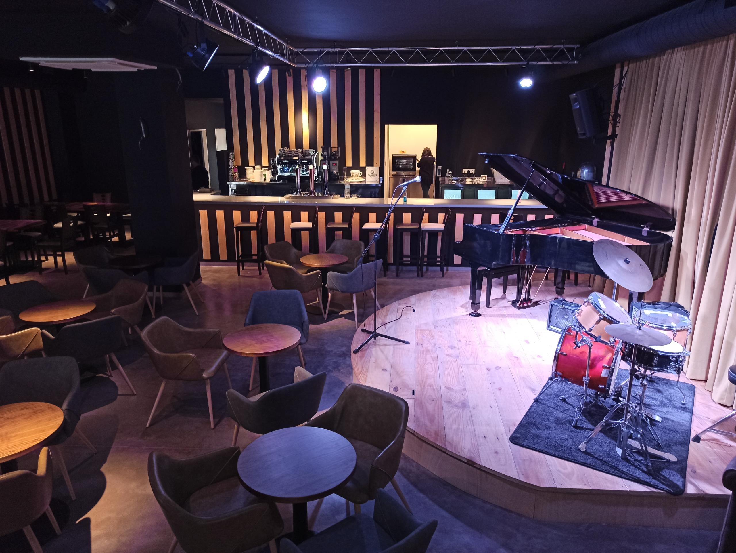 Instal·lacions del nou Cafè de l'Aula   Cedida