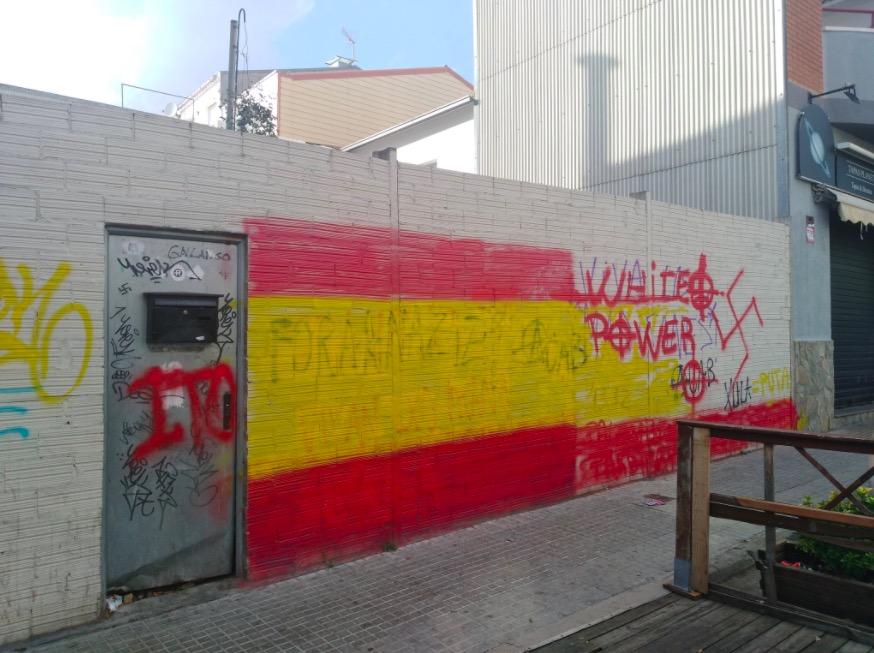 Pintades de caire feixista/UCFR