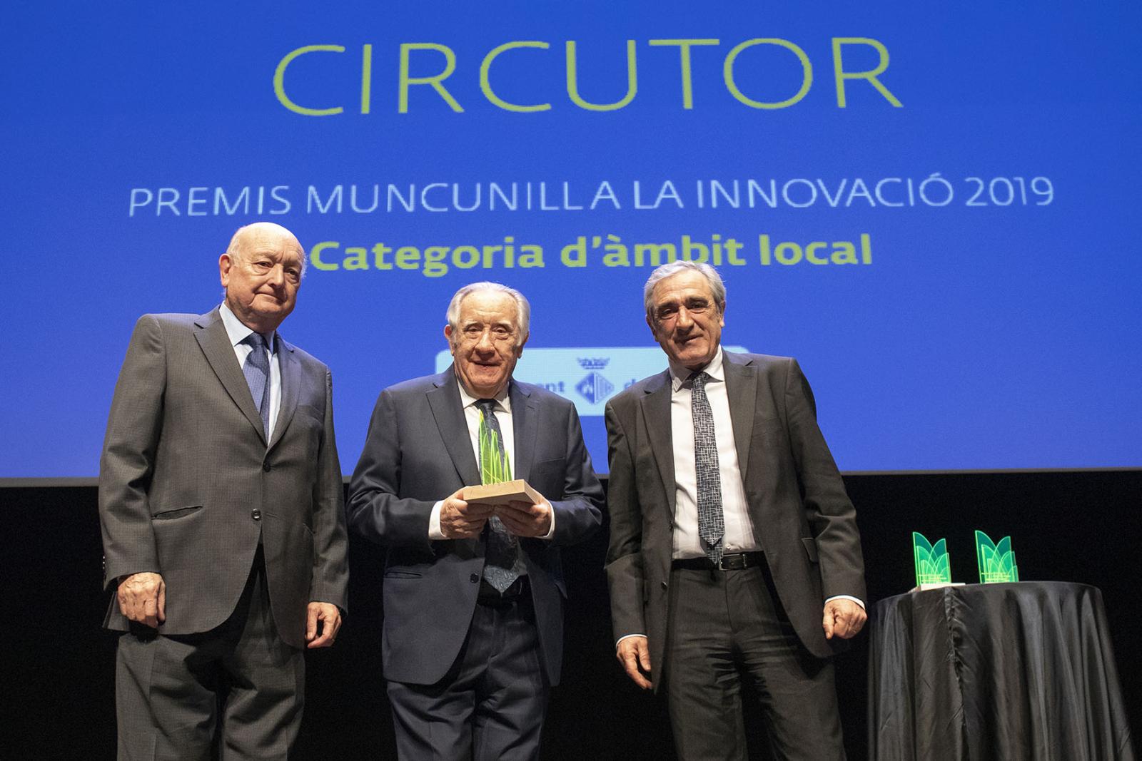 El 2019, els Premis Muncunill han recaigut en Circutor, Textia, el Festival Eufònic i Ramón Flecha. El Premi Muncunill a la Innovació Honorífic ha distingit Cristóbal Colón Palasí, fundador i president de La Fageda | Rafel Casanova BCF